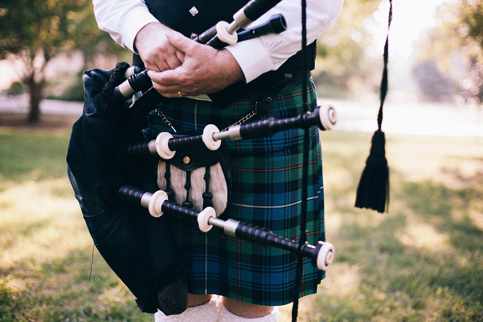 Bagpipe, Scot, Uilleann Pipes, Scotsman, Feet, Scottish