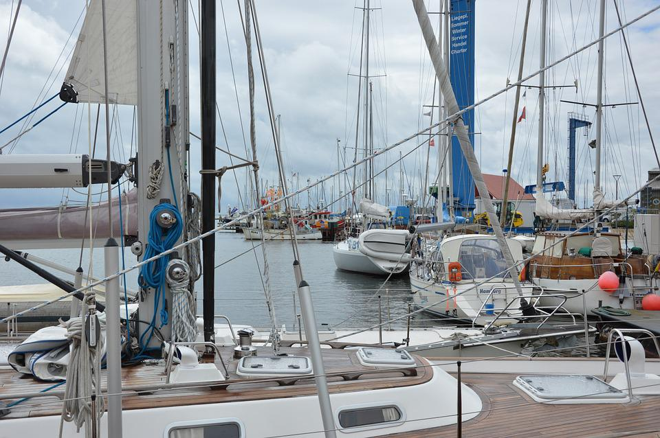 Port, Boats, Fehmarn