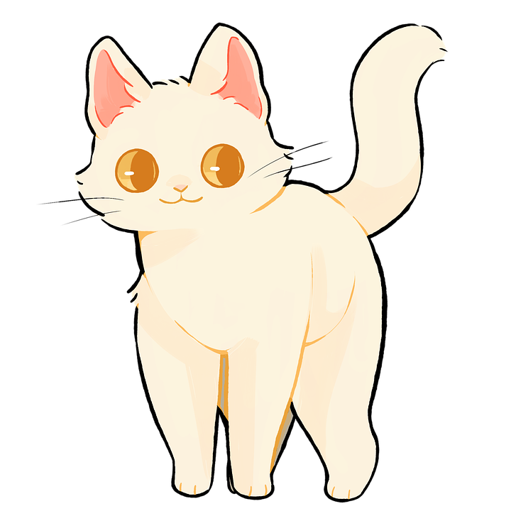 Cat, Cartoon, Kitty, Kitten, Cute, Animal, Pet, Feline
