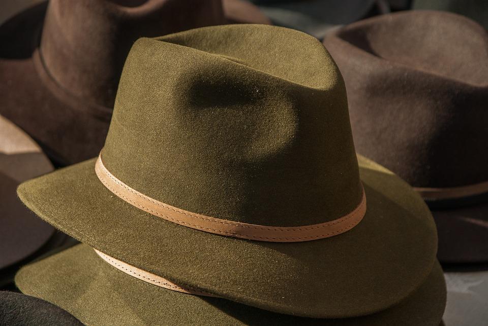 Hat, Felt, Men's Clothing