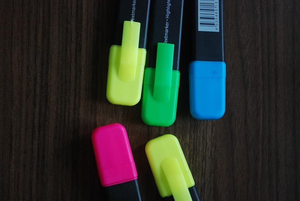 Felt Tip, Felt Tip Pens, Colorful, Zakreslać
