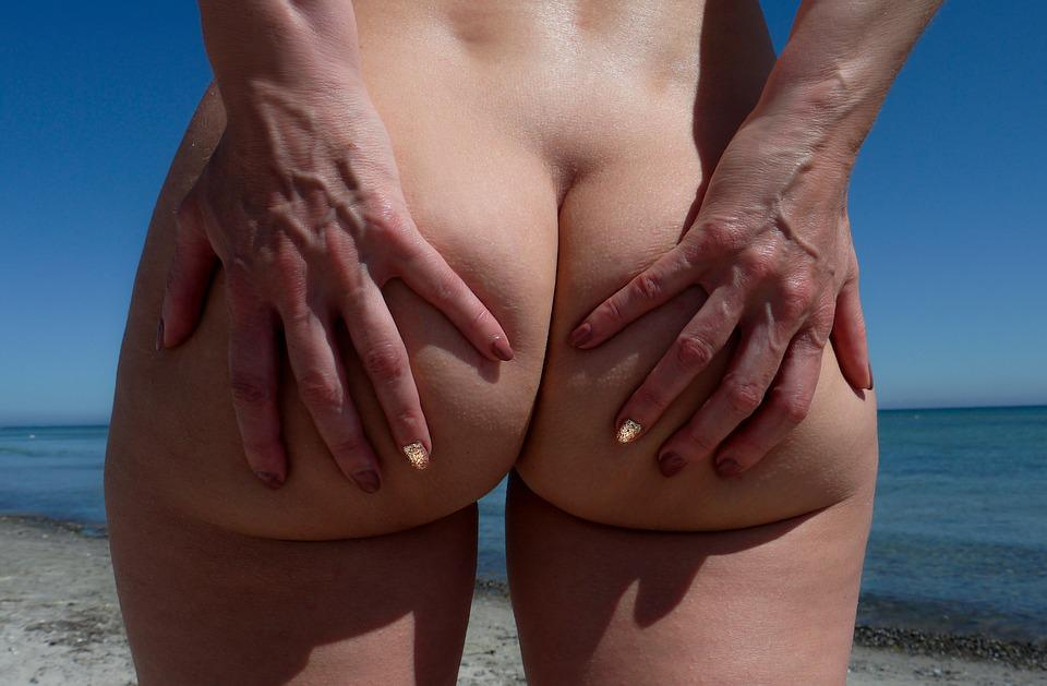 Woman, Body, Ease, Summer, Beach, Sexy, Naked, Female