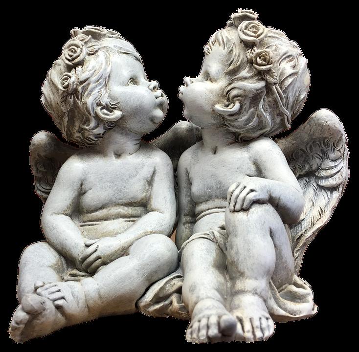 Angel, Wing, Fairytale, Feelings, Female, Statue, Love