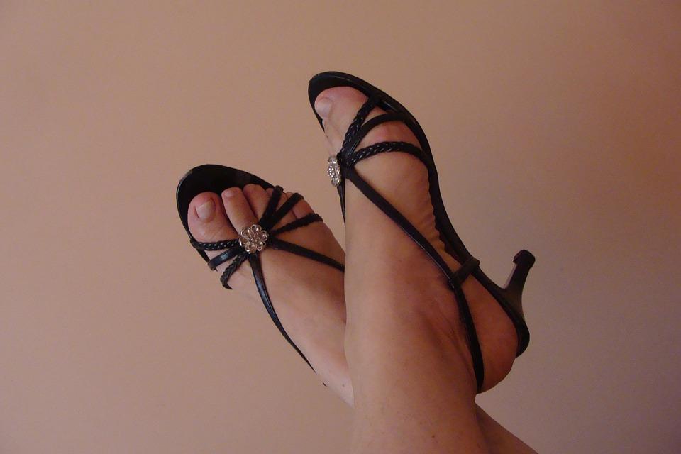 Sandals, Female, Feet, Shoes, Elegant, Fashion