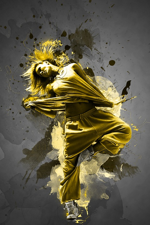 Woman, Dancer, Girl, Female, Dancing, Fitness