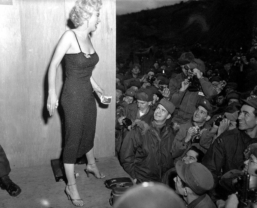 Marilyn Monroe, Celebrity, Woman, Female, Usa, America