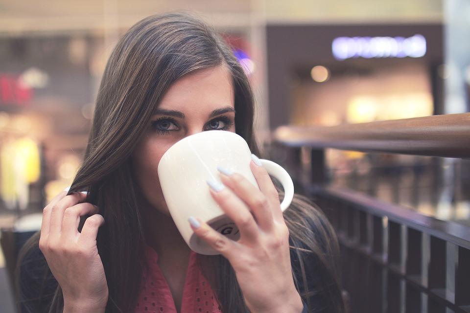 Drinking, Female, Mug, Person, Woman