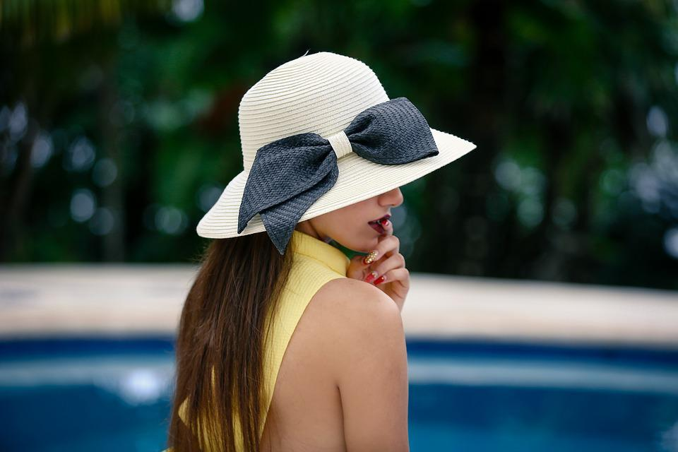 Woman, Hat, Fashion, Portrait, Girl, Female, People