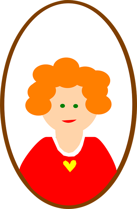 Head, Red, Female, Girl, Ginger