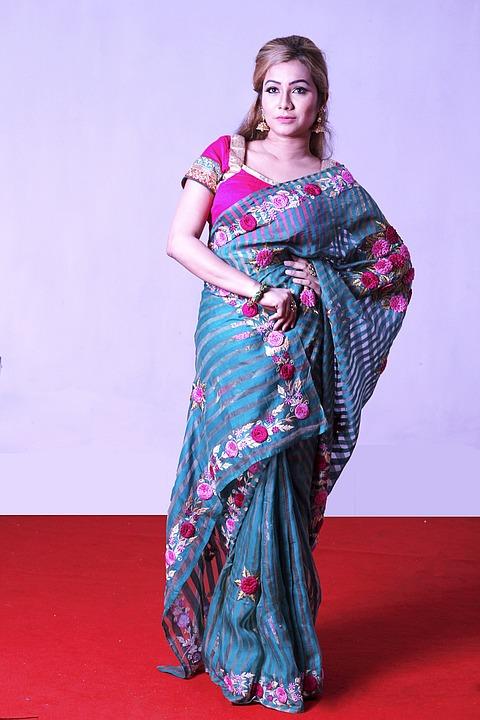 Sharee, Women, Female, Traditional, Clothing