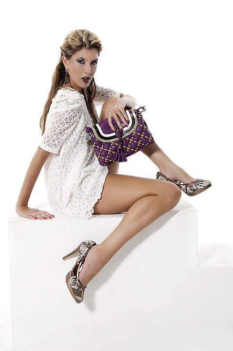 Fashion, Handbag, Purple, Woman, Girl, Female, Style