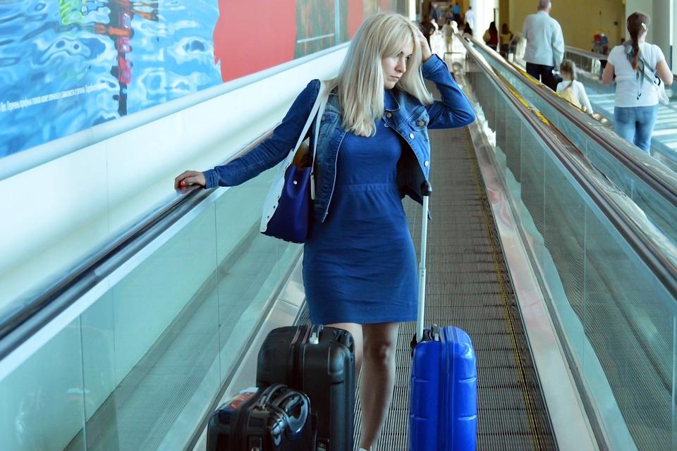 Traveler, Traveller, Young, Woman, Girl, Female