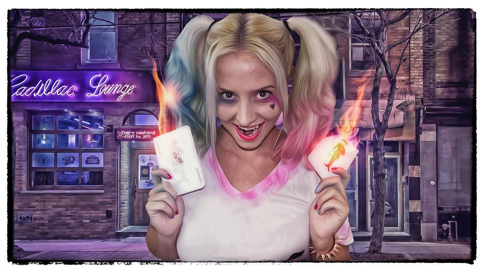 Harley Quinn, Woman, Female, Fantasy, Fantasy Character