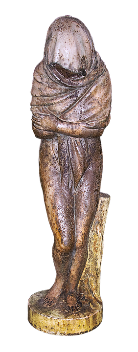 Sculpture, Woman, Freezing, Female, Bronze Statue