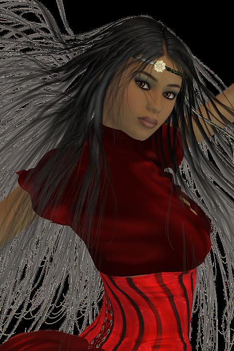 Woman, Tube, Beautiful, Pretty, Female, Hair, Figure