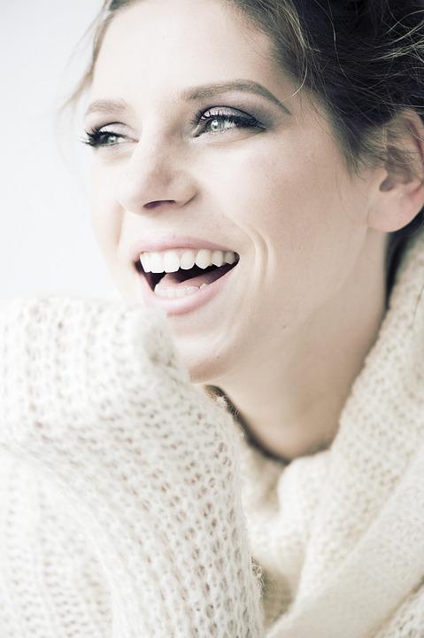 Beauty, Smile, Happy, Woman, Young, Portrait, Female