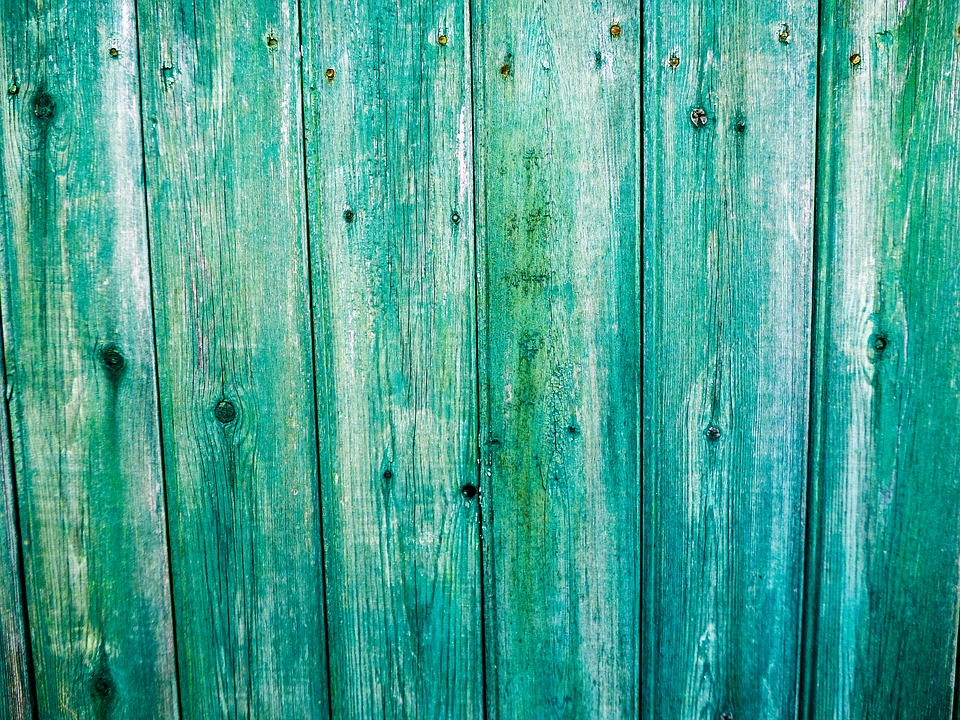 Background, Fence, Wood, Board, Green, Lath, Old