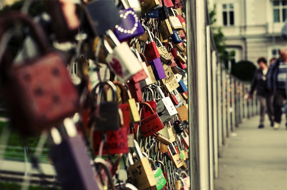 Locks, Hearts, Fence