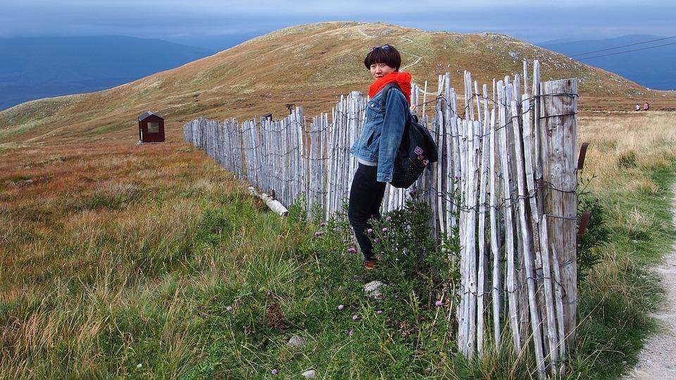 Scotland, United Kingdom, Mountains, The Scenery, Fence