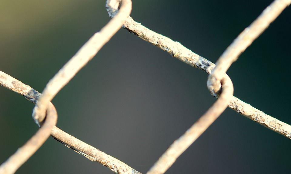 Fencing, Chainlink, Wire, Metal, Security, Steel