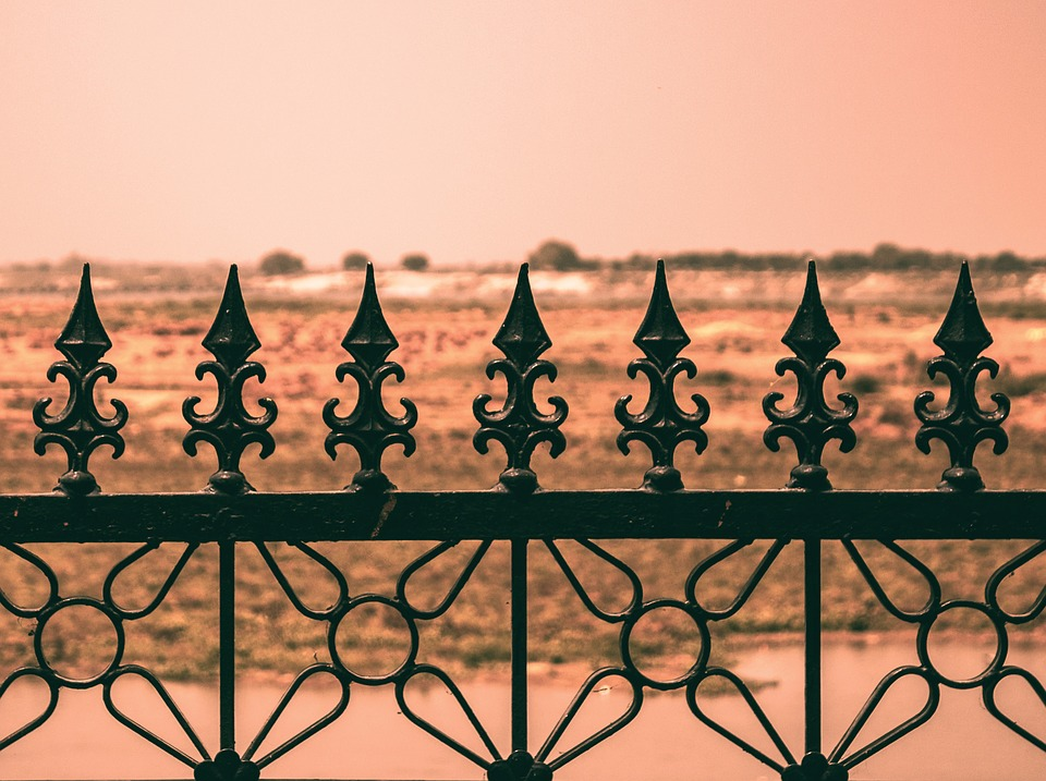 Railing, Fencing, Symmetry, Iron, Artistic, Fence