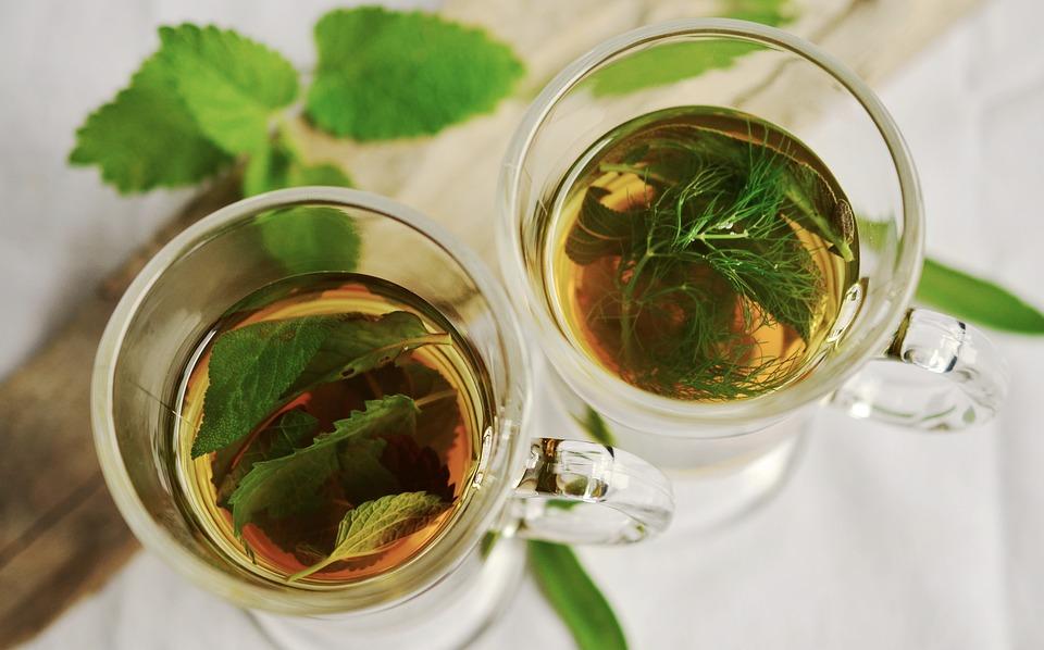 Herbal Tea, Herbs, Tee, Mint, Sage, Fennel Flavor