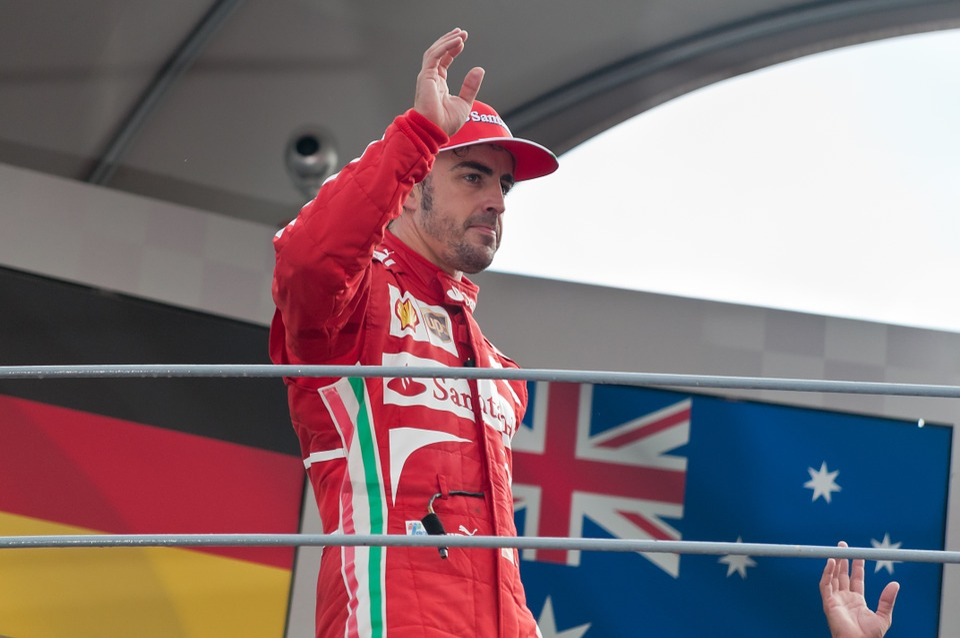 Formula 1, Fernando Alonso, Pilot, Podium, Monza