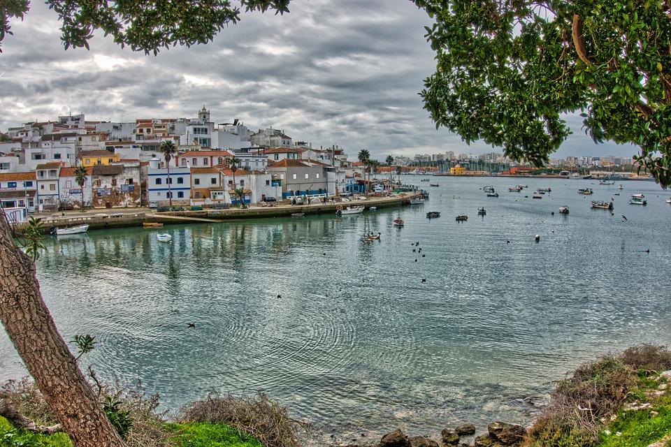 Algarve, Portugal, Bay, Tourism, Mar, Ferragudo