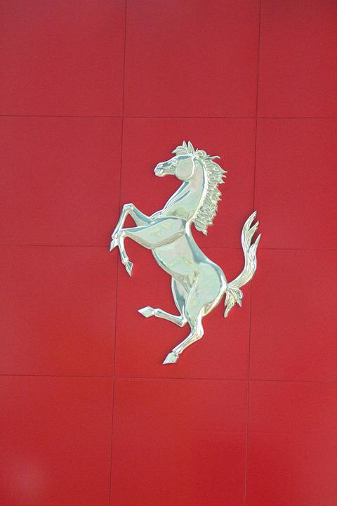 Ferrari, Emblem, Automobile, Business, Company, Icon
