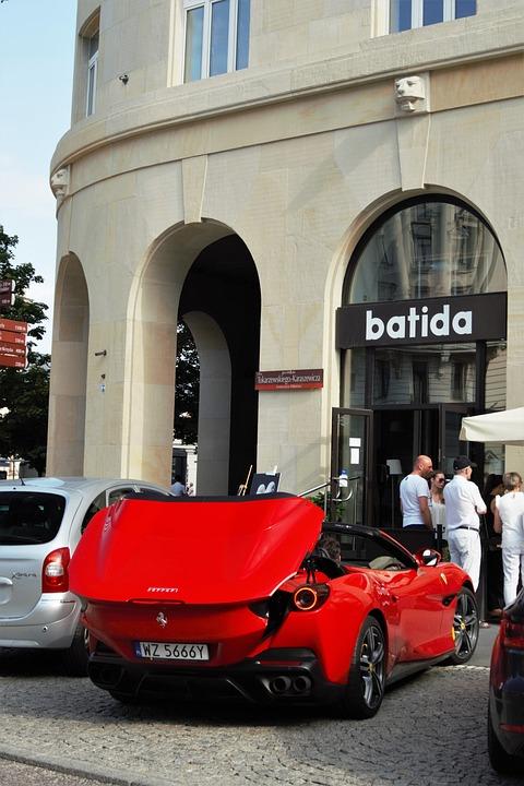 Car, Luxury, Maserati, Ferrari Portofino, Ferrari Roma