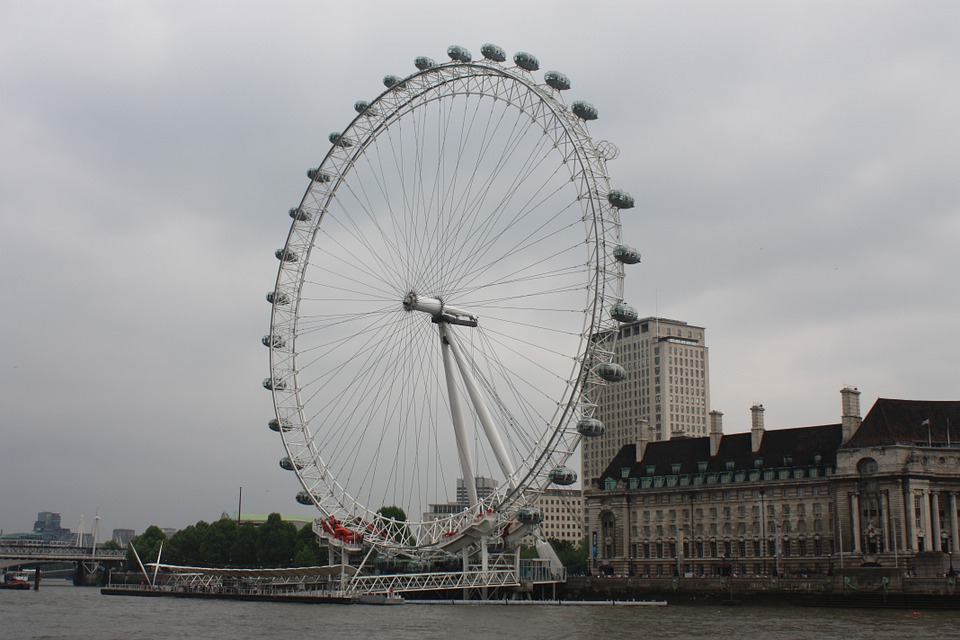 London, London Eye, Ferris Wheel