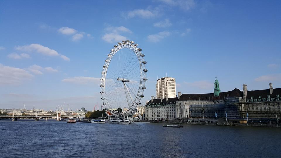 London, Ferris Wheel, London Eye