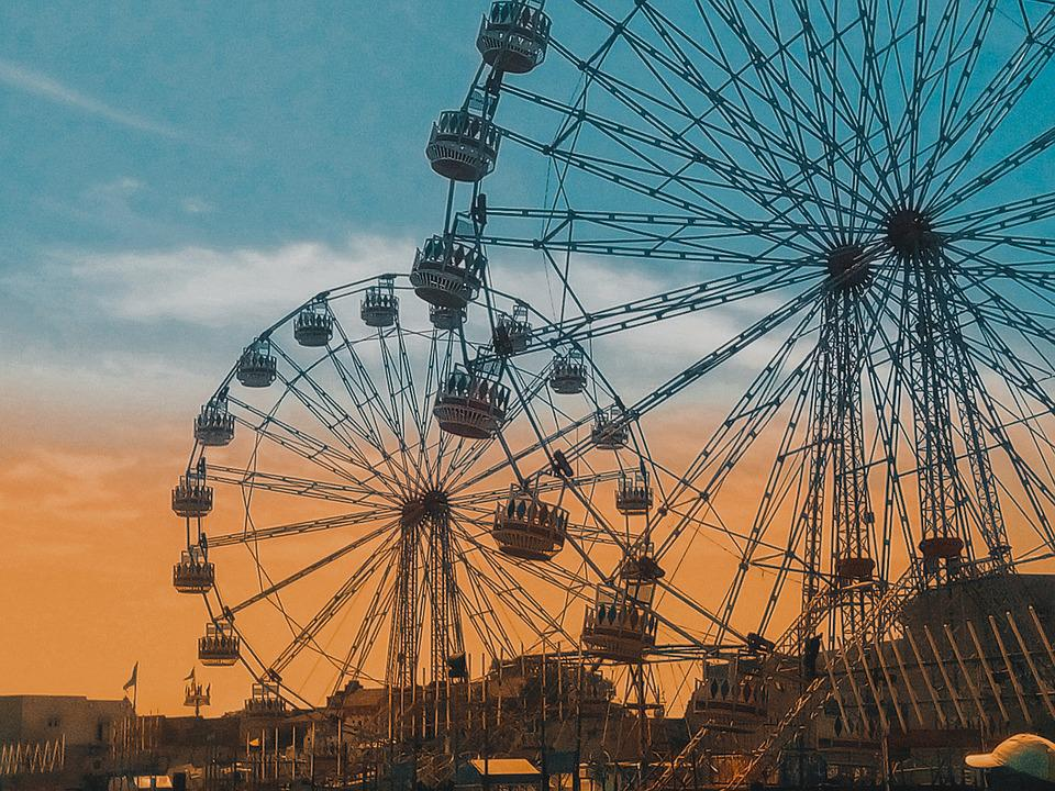 Ferriswheel, Ferris, Wheel, Netherlands, Fair, Carnival