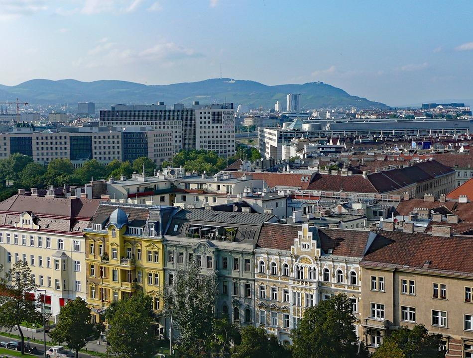 Vienna, Austria, View, Prater, Ferris Wheel