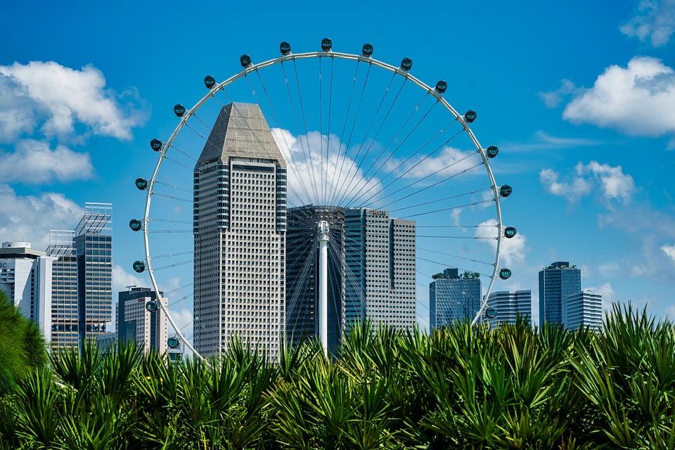 City, Ferris Wheel, Travel, Tourism, Buildings