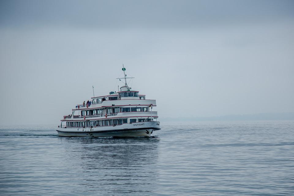 Ferry, Passenger Ship, Ship, Lake Constance, Fog, Boot
