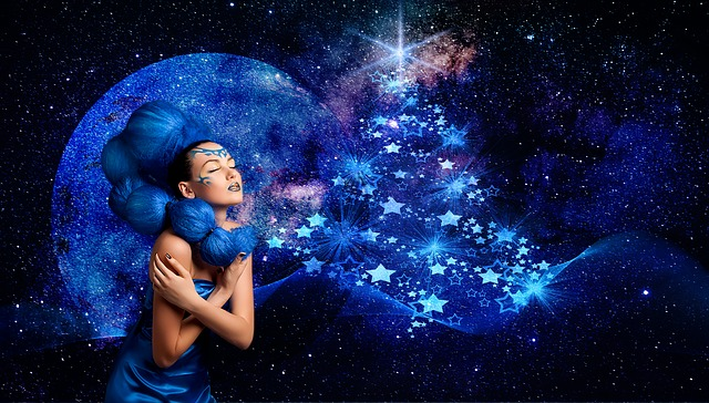 Stars, Noels, Christmas, Festival, Decorations, Lights