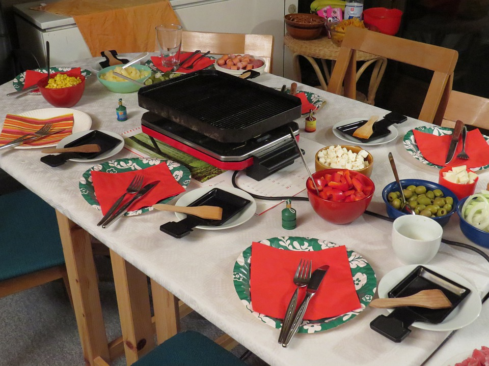 Raclette, Festival, Celebrate, Eat, Dinner, Party, Cook