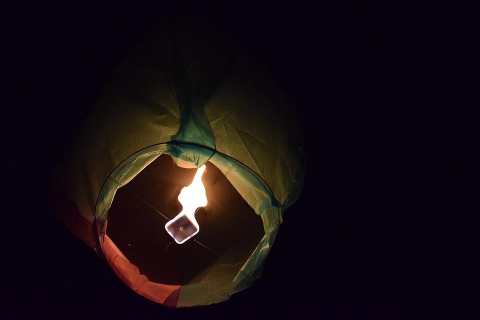Skylanten, Fire, Colourful, Sky, Diwali, Festival