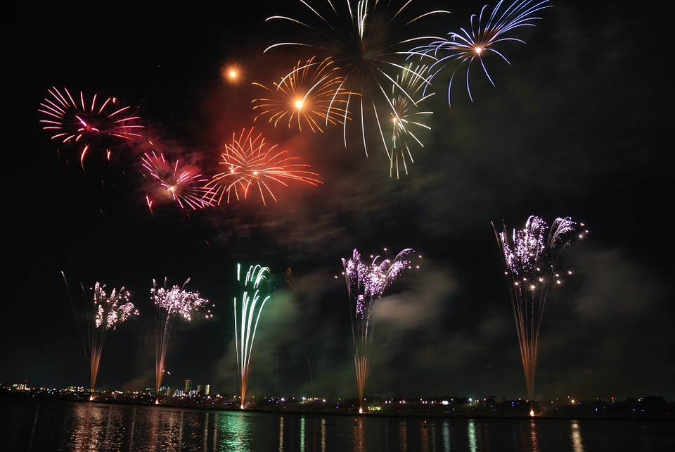 Fireworks, Colorful, Sky, Night, Japan, Festival