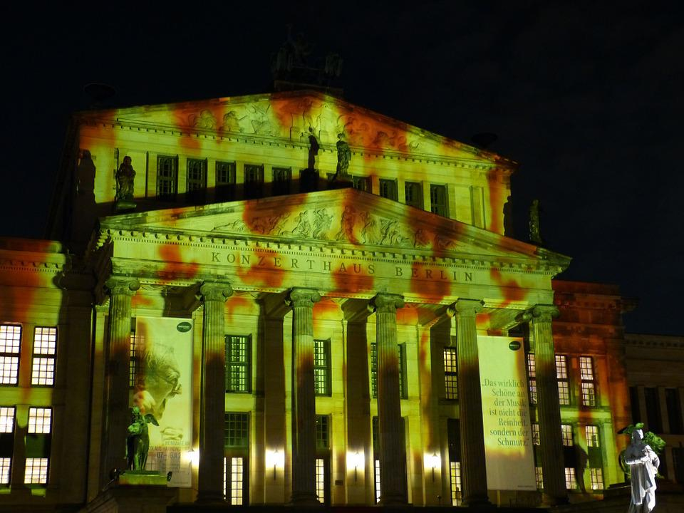 Festival Of Lights, Berlin, Capital, Germany, Landmark