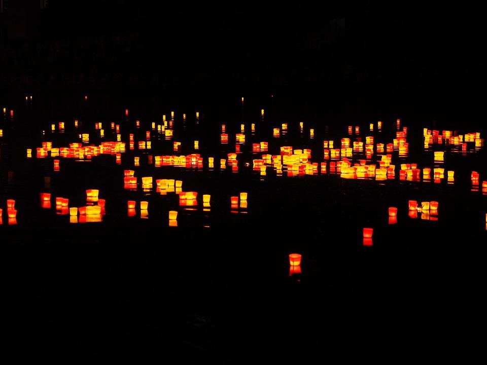 Candles, Lights Serenade, River, Festival Of Lights
