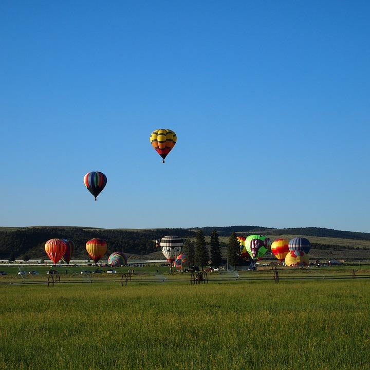 Balloons, Festival, Panguitch, Utah, Launch