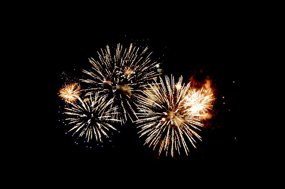 Fireworks, Night Sky, Celebration, Party, Festival
