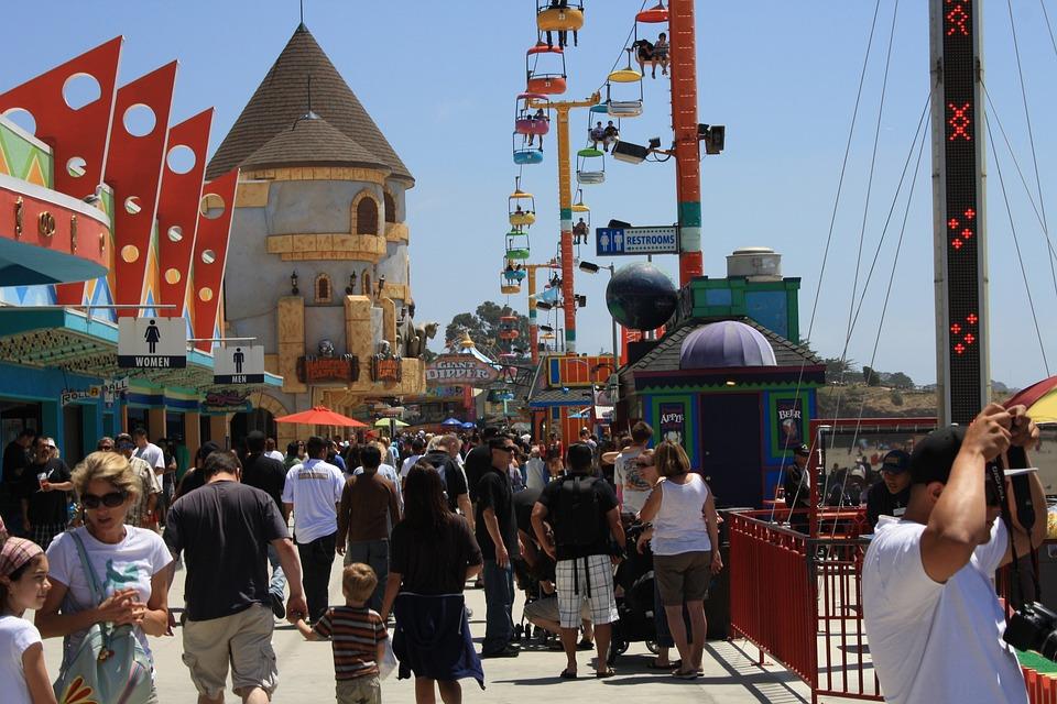 Usa, California, Festival, Summer, Entertainment