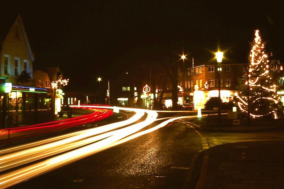 Christmas, Xmas, Night, Festive, Seasonal, Holiday