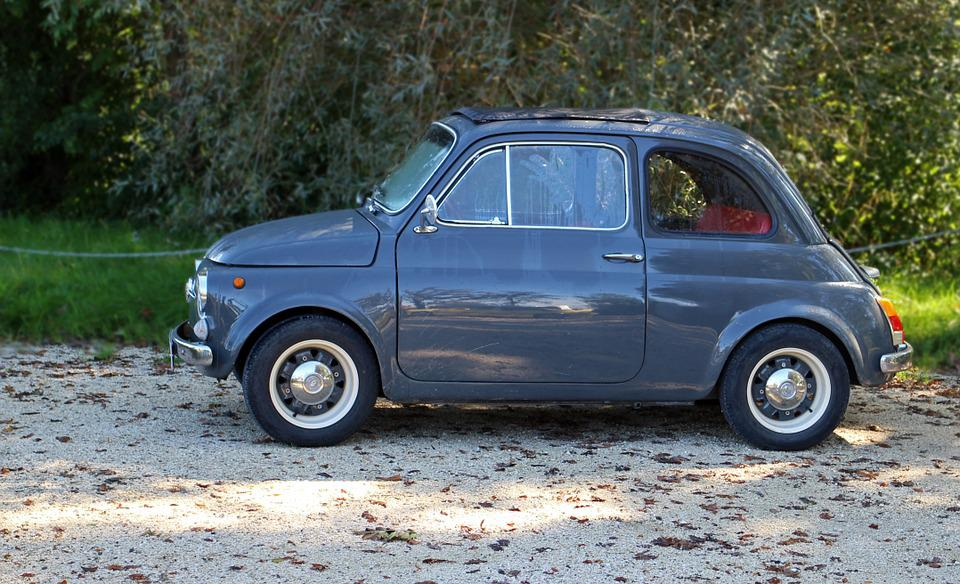 Free photo Fiat 500 Pkw Auto Old Car Old Oldtimer Small - Max Pixel