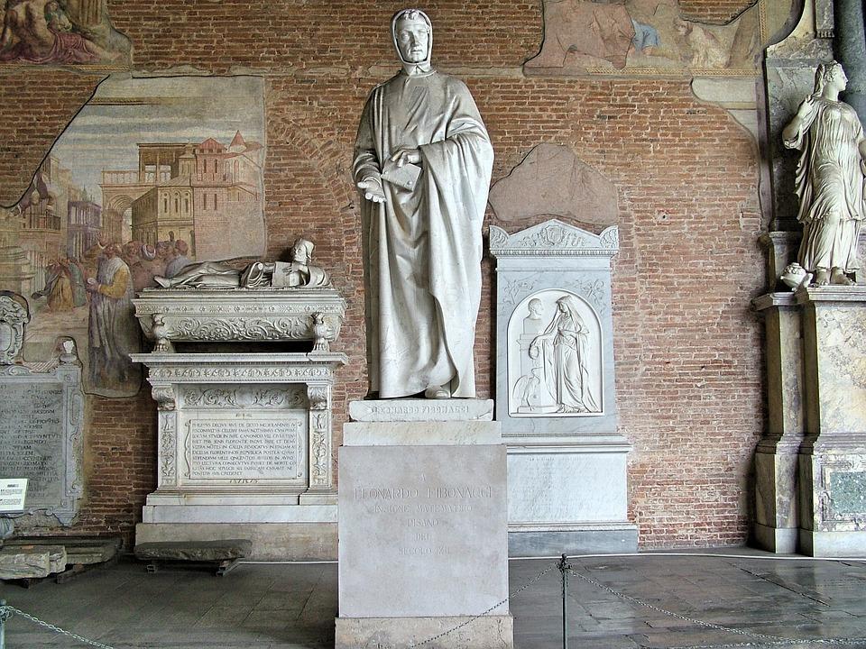 Fibonacci, Memorial, Pisa