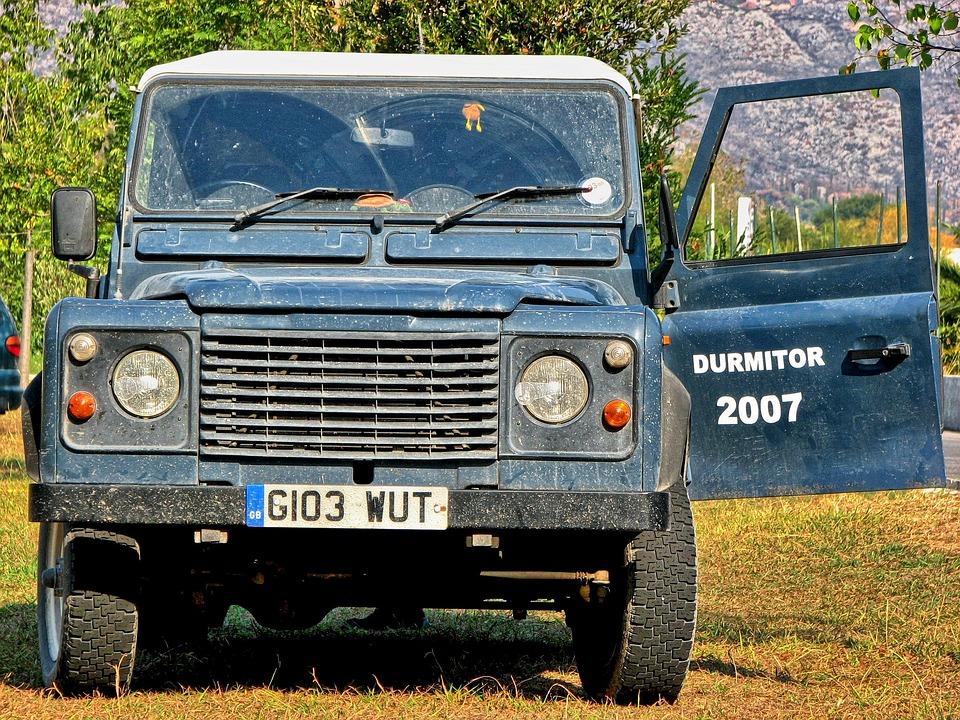 Car, All-terrain Vehicle, Land Rover, Defender, Field
