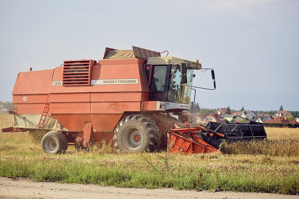 Harvest, Combine, Corn, Agriculture, Field, Collections